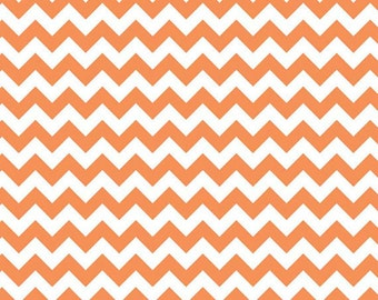Chevron - Small Orange