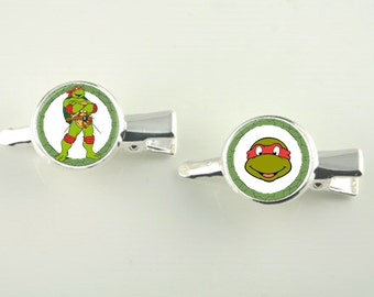 Animated Characters Silver Hair Slides Two in set V4701