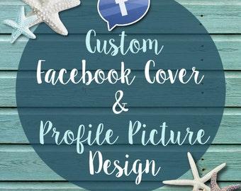 Custom Facebook Cover and Profile Picture design