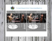 Candy Bar Wrapper WWE Wrestling Black background