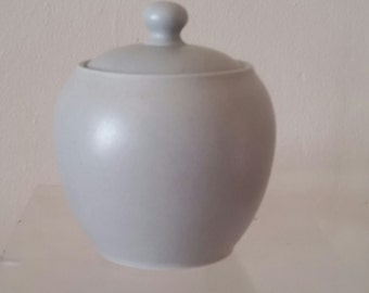 Noritake Colorwave Grey Sugar Bowl with Lid