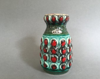 Bay Keramik 64 - 14  vase stunning vintage  1960s West Germany  Pottery. WGP.