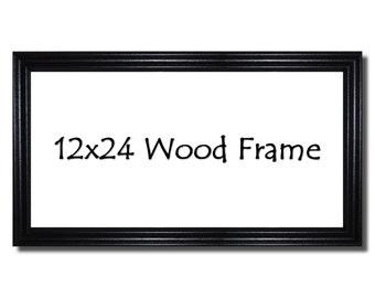 12x24 Wood Frame