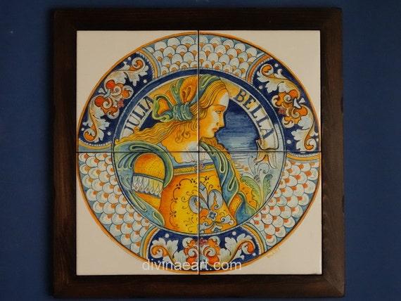 c eramiche legno antichizzato : ... sul mare, mattonelle dipinte a mano, ceramiche artistiche, toscana art