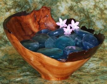 1 BLUE FLUORITE Tumbled Stone - Blue Fluorite Crystal, Blue Fluorite Healing, Blue Fluorite Gemstone, Tumbled Blue Fluorite