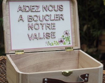 Box message range |mariage side jardin|