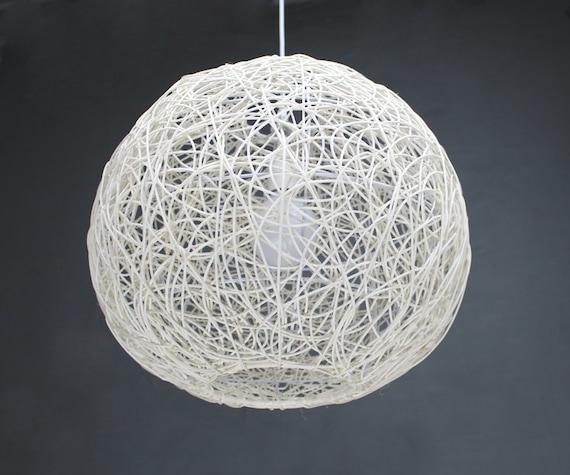 White Rattan Sphere Pendant Lamp Shade Pendant Lights Ball
