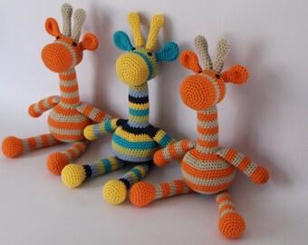 PDF,  Giraffe Pattern, by Addicted 2 The Hook 35cm Crochet Giraffe Pattern