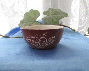 Vintage Hawaiian Pottery Bowl, Trinket Dish, Vintage Pottery, Ring Dish, Trinket Holder, Handmade Hawaiian Pottery