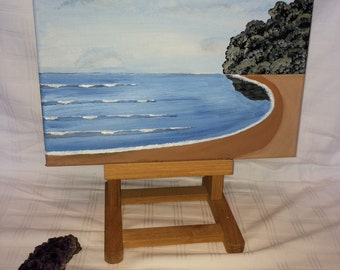 Sea view canvas painting