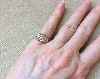 Sterling Wave Ring -- 139