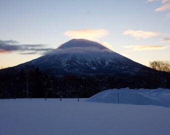 Mt. Yotei at dawn