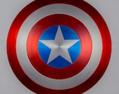 Captain America Shield Metal 1:1 FULL SCALE SATIN finish Avengers Marvel Ultron w/ C.O.A