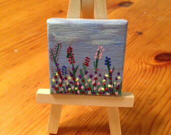 Tiny Flower Painting