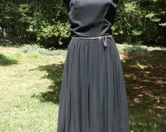 Vintage early 1960's Little Black Dress