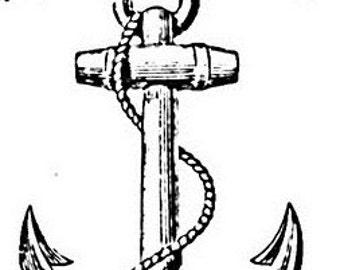 Hopes Anchor - Temporary Tattoo