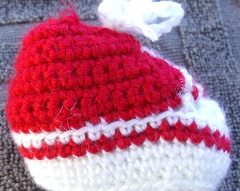 Handmade Converse HiTops & Parfait Crochet Booties Sports Colors and Single Colors