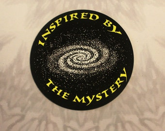 Inspired By The Mystery Outdoor Magnet