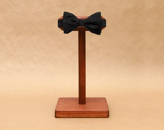 Bow Tie Display Stand / Wooden Bowtie Stand / Collapsible Head Band Display / Wood Headband Stand / BT001