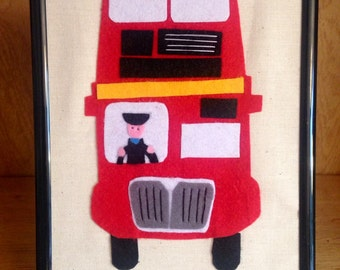 Bus picture - can be personalised
