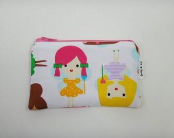 Fairy Girls Wallet, Kids Wallet, Kids Coin Purse, Toddler Wallet, Children's Wallet, Coin Pouch