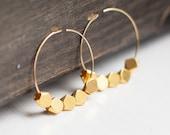 Bold & Beautiful 14K Gold Filled Hoop Earrings