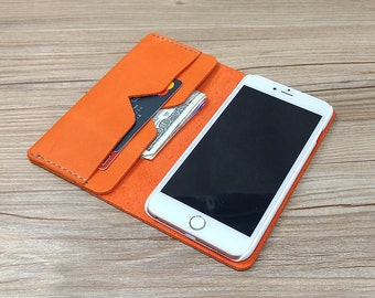 Leather iPhone 6 Case iPhone 6 Sleeve iPhone 6 Plus Wallet Case iPhone 6 Leather iPhone 6 Plus Leather Wallet iPhone 4 Case, K49