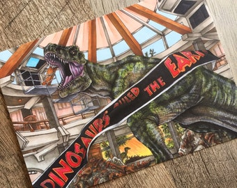 "Jurassic Park ""When Dinosaurs Ruled the Earth"" Print"