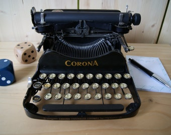 Typewriter CORONA 3 folding / in perfect working order