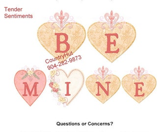 T-shirt - Your Name in -- TENDER SENTIMENTS - Be Mine - yth xSmall to adult 6xLarge - personalized - Valentine