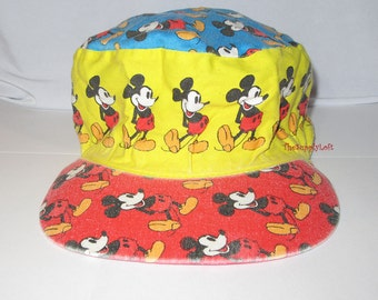 Vintage Disney Mickey Hat Cap Kids Size - Wearable Collectible