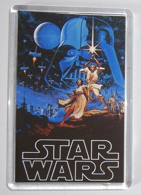 Classic Star Wars Movies Empire Strikes Back Return of the Jedi The Force Awakens fridge magnet New
