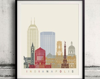 Indiana Silhouette Etsy