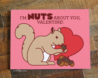 Cute valentine card  Etsy