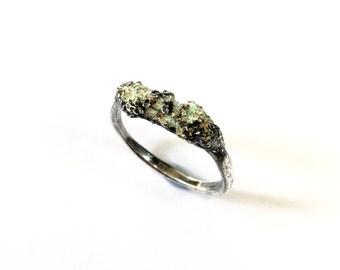 Forrest Dew Enamelled Ring