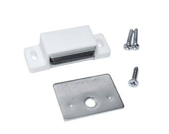 12 Pack - Magnetic Cabinet & Door Latch/Catch Closures