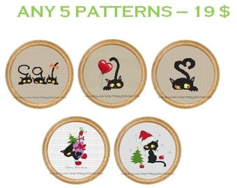 Any 5 patterns - 19 dollars