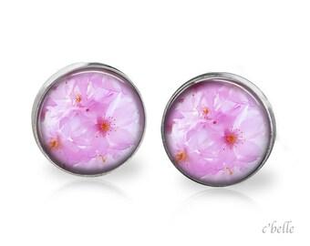 Earrings flowers - cherry blossom 16