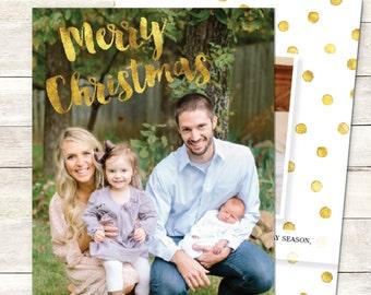 Family Christmas Card Printable, Photo Christmas Card, Custom Christmas Card, Baby Christmas Card, Customized Christmas Card, Printable
