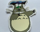 My Neighbour Totoro Inspired Sticker Studio Ghibli Sticker Anime Sticker Kawaii Sticker Laptop Sticker MacBook Sticker Fun Manga Gift