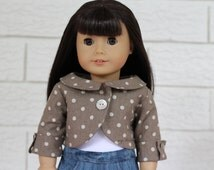 """American Girl Clothes, Penny Lane Coat, American Girl doll coat, 18"""" doll clothes"""