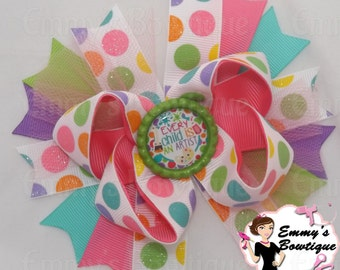 Every Child Is An Artist Hair Bow