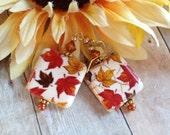 Fall Jewelry - Fall Earrings, Autumn Earrings, Jewelry, Earrings, Dangle Earrngs, Fall Leaf Earrings, Gifts For Her