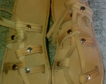 Gladiator Traditoinal leather sandals