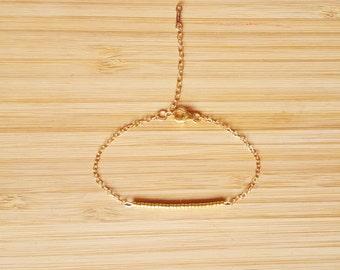 Ola Gold Bracelet