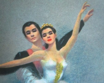 Ballet Couple Print