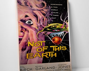 Not of this Earth Gallery Wrapped Canvas Print