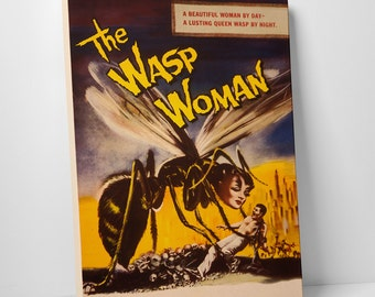 The Wasp Woman Gallery Wrapped Canvas Print