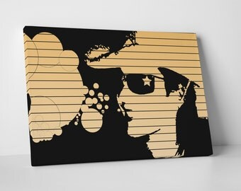 Who Art Now 'Star and Bubbles' Gallery Wrapped Canvas Print