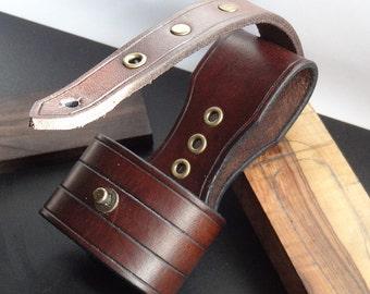 Hand Crafted Leather Hatchet, Axe, Belt Loop For Outdoors Bushcraft Carry, Bushcraft, Groomsmen, Mens Gift, Womens Gift, cosplay